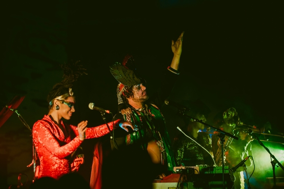 Golden Dawn Arkestra. Photo by Jean Velez